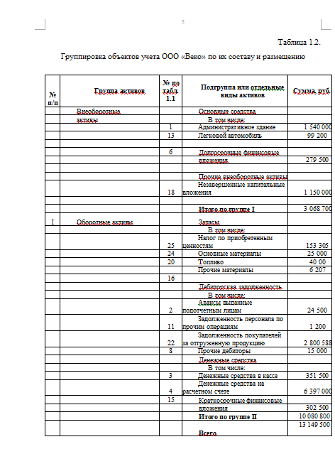 Контрольная работа по Бухгалтерскому учету Вариант №  Контрольная работа по Бухгалтерскому учету Вариант №1 15 03 14