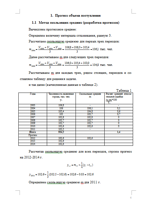Контрольная работа по Макроэкономическому планированию Вариант №  Контрольная по Макроэкономическому планированию и прогнозированию Вариант №4 23 10 14
