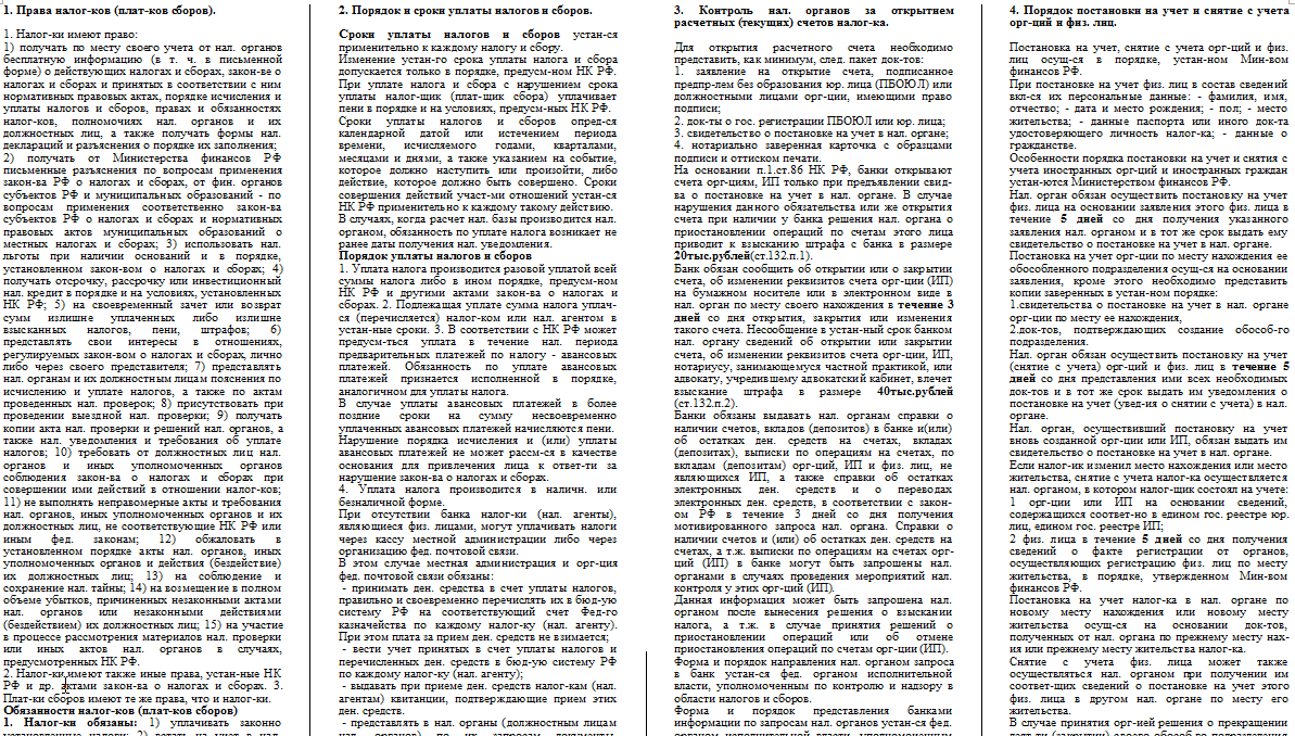 Муниципальное Право Полный Зачет Шпаргалка 2018