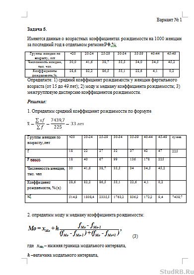 Менеджмент контрольная работа вариант 25