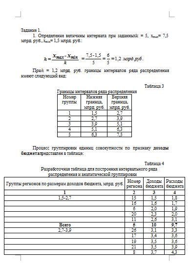 Контрольная работа по Статистике Вариант № Контрольные работы  Контрольная работа по Статистике Вариант №4 02 12 15
