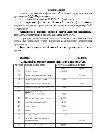 Контрольная работа по Теории бухгалтерского учета Вариант  Контрольная работа по Теории бухгалтерского учета Вариант 1 26 10 17